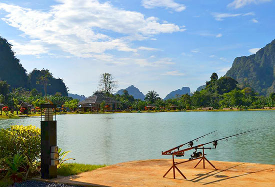 The very beautiful Exotic Fishing Thailand.