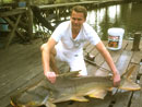 Stephan with Catfish.