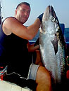 Dave with a Dogtooth Tuna.