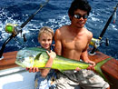 Young angler with Dorado.