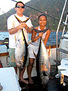 A nice double of Yellowfin Tuna.